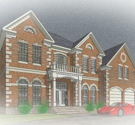 Prestige Designer Homes - Colonial House